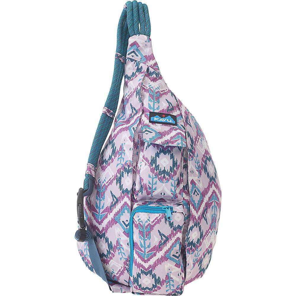 カブー Kavu レディース ボディバッグ・ウエストポーチ バッグ【KAVU Rope Sling Bag】Purple Ikat
