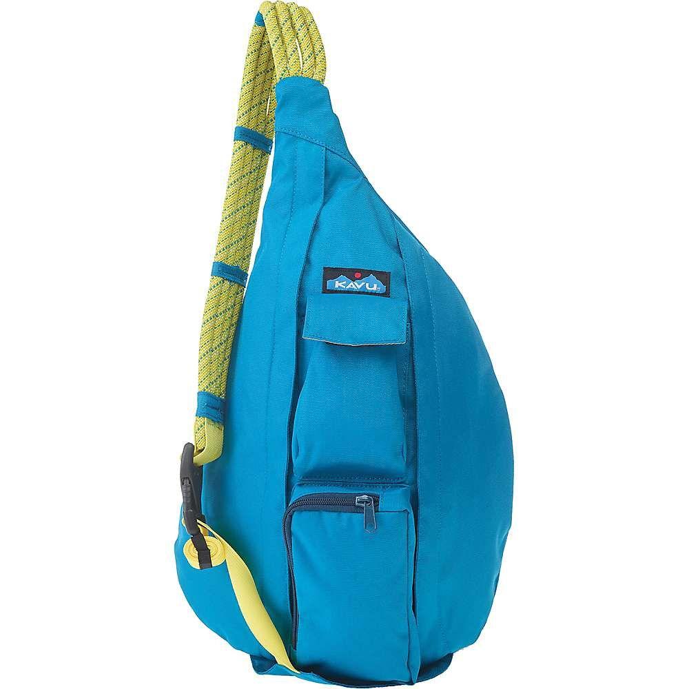 カブー Kavu レディース ボディバッグ・ウエストポーチ バッグ【KAVU Rope Sling Bag】Skydive Blue