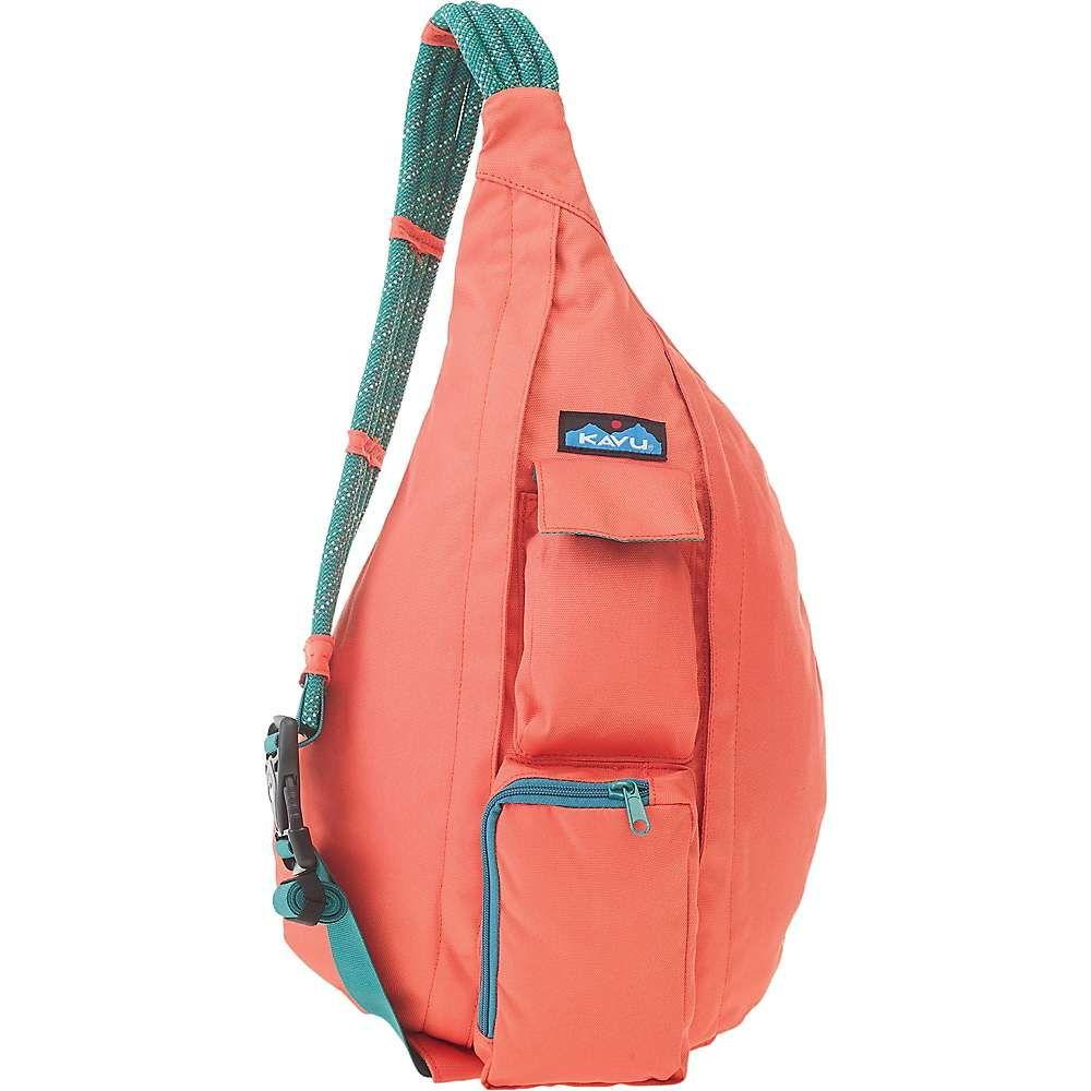 カブー Kavu レディース ボディバッグ・ウエストポーチ バッグ【KAVU Rope Sling Bag】Orange Pop