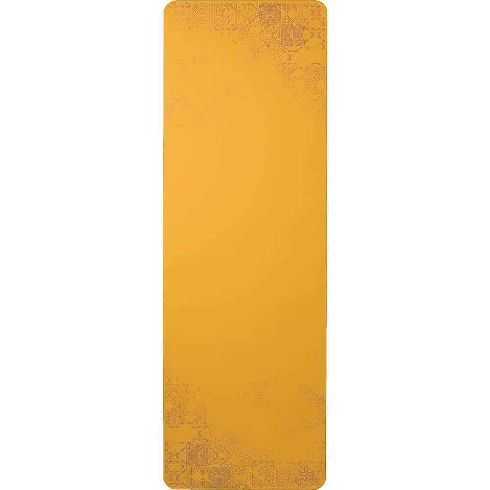 プラーナ Prana ユニセックス ヨガ・ピラティス ヨガマット【Henna E.C.O. Yoga Mat】Curry