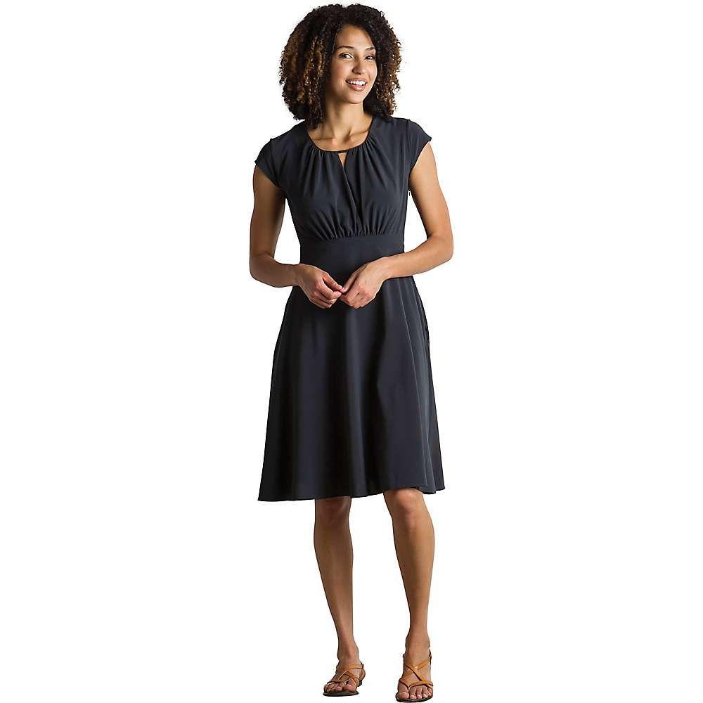 エクスオフィシオ ExOfficio レディース ワンピース ワンピース・ドレス【Kizmet Cross-Front Dress】Black