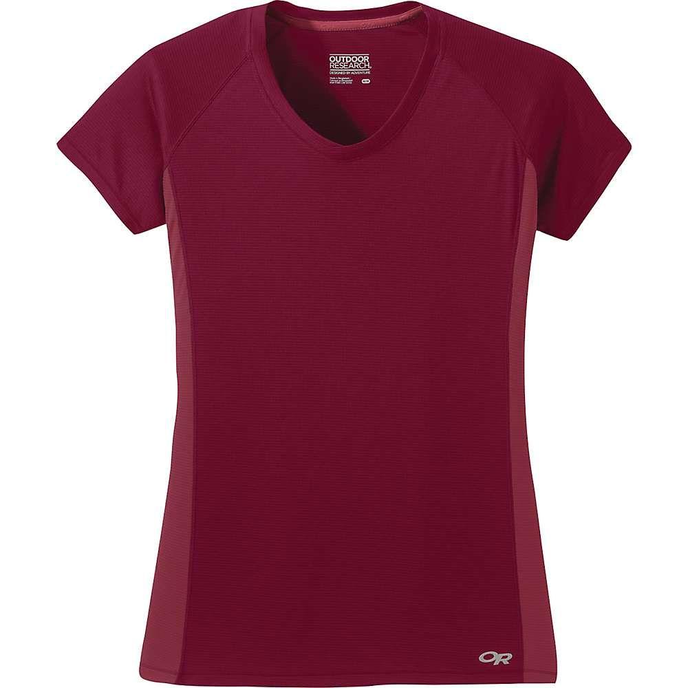 アウトドアリサーチ Outdoor Research レディース Tシャツ トップス【Echo SS Tee】Crimson/Clay
