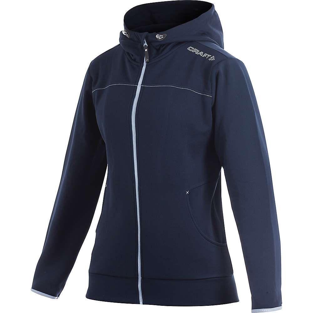クラフト Craft Sportswear レディース ジャケット アウター【Craft Leisure Full Zip Hood Jacket】Dark Navy
