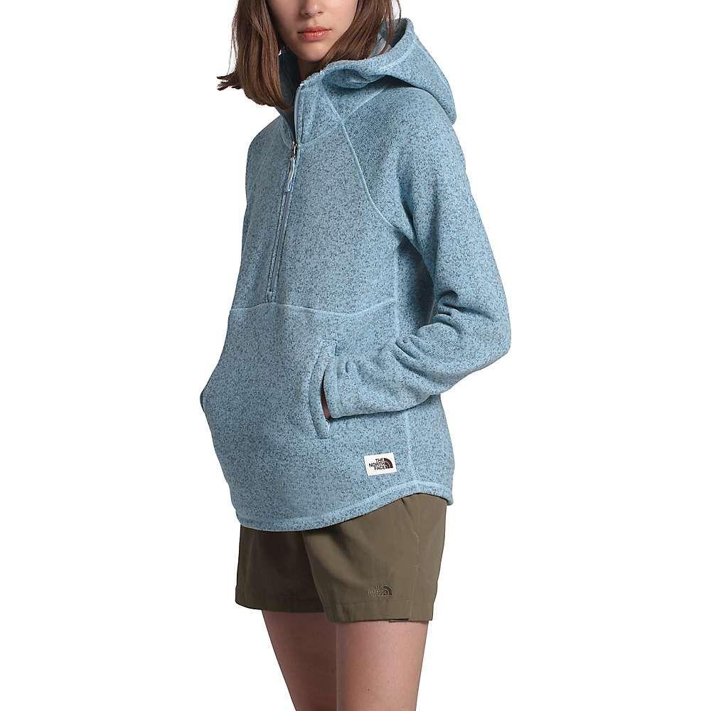 ザ ノースフェイス The North Face レディース フリース トップス【Crescent Hooded Pullover】Angel Falls Blue Heather