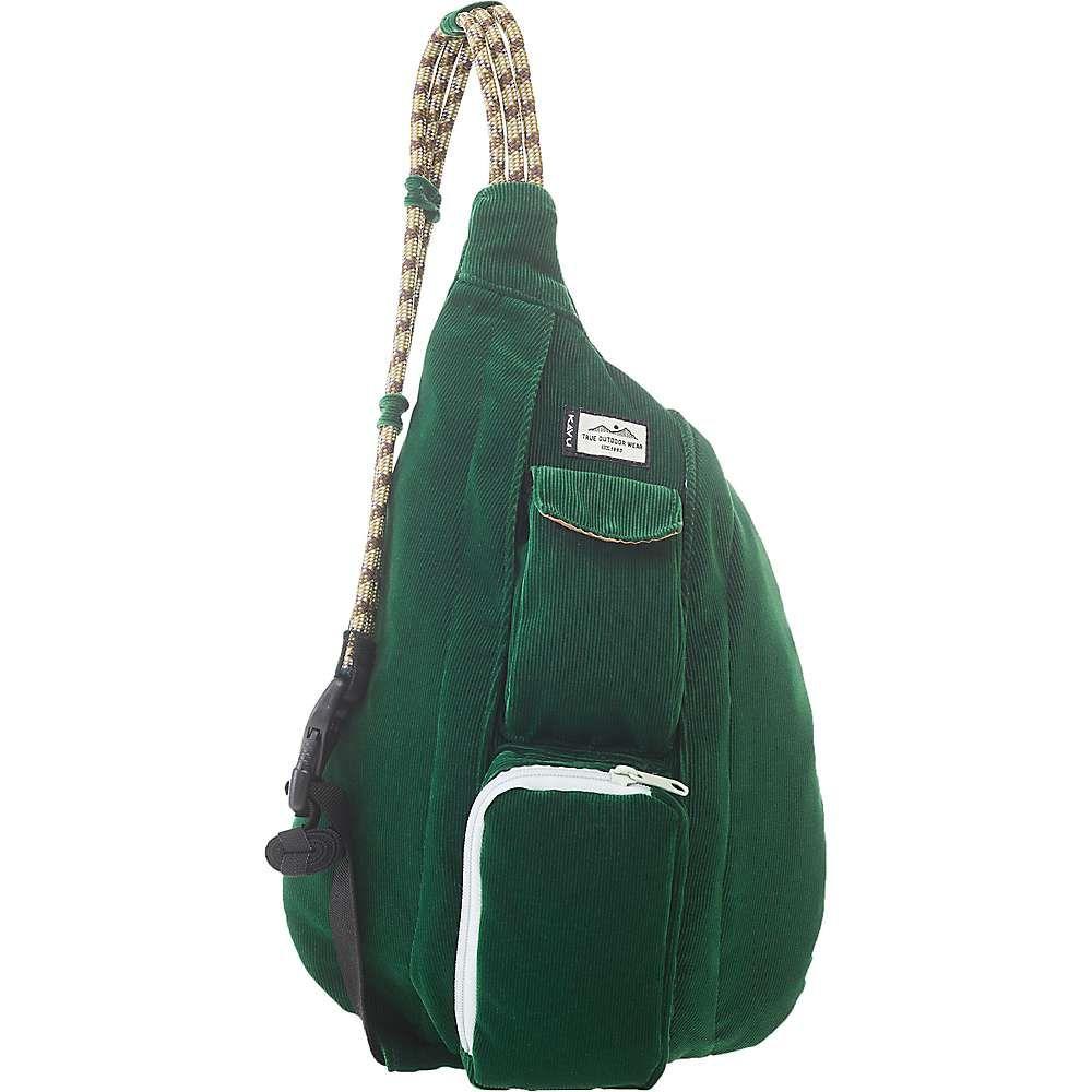 カブー Kavu レディース ボディバッグ・ウエストポーチ バッグ【KAVU Mini Rope Cord Sling Bag】Park Green