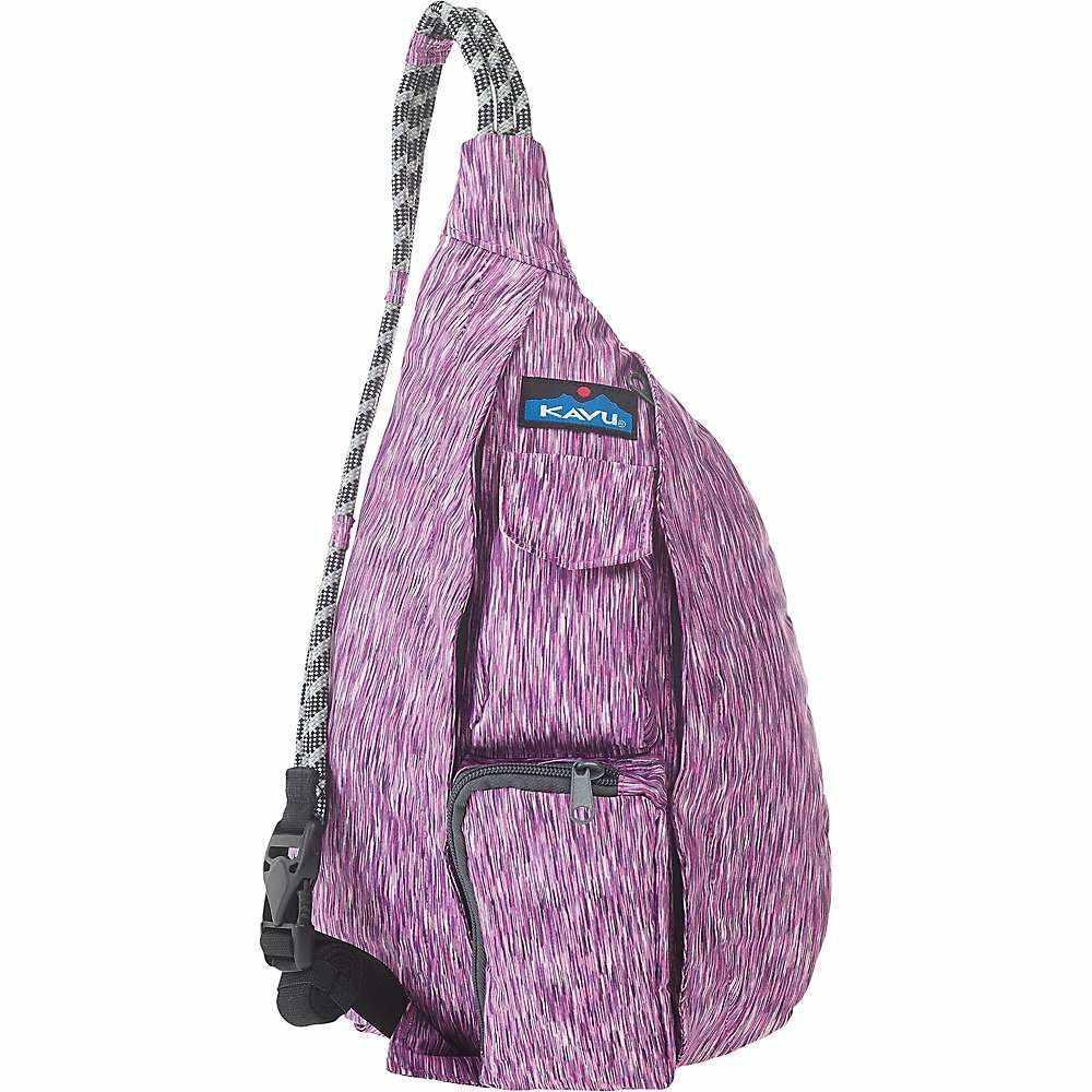 カブー Kavu レディース ボディバッグ・ウエストポーチ バッグ【KAVU Mini Ropercise Sling Bag】Purple Dust