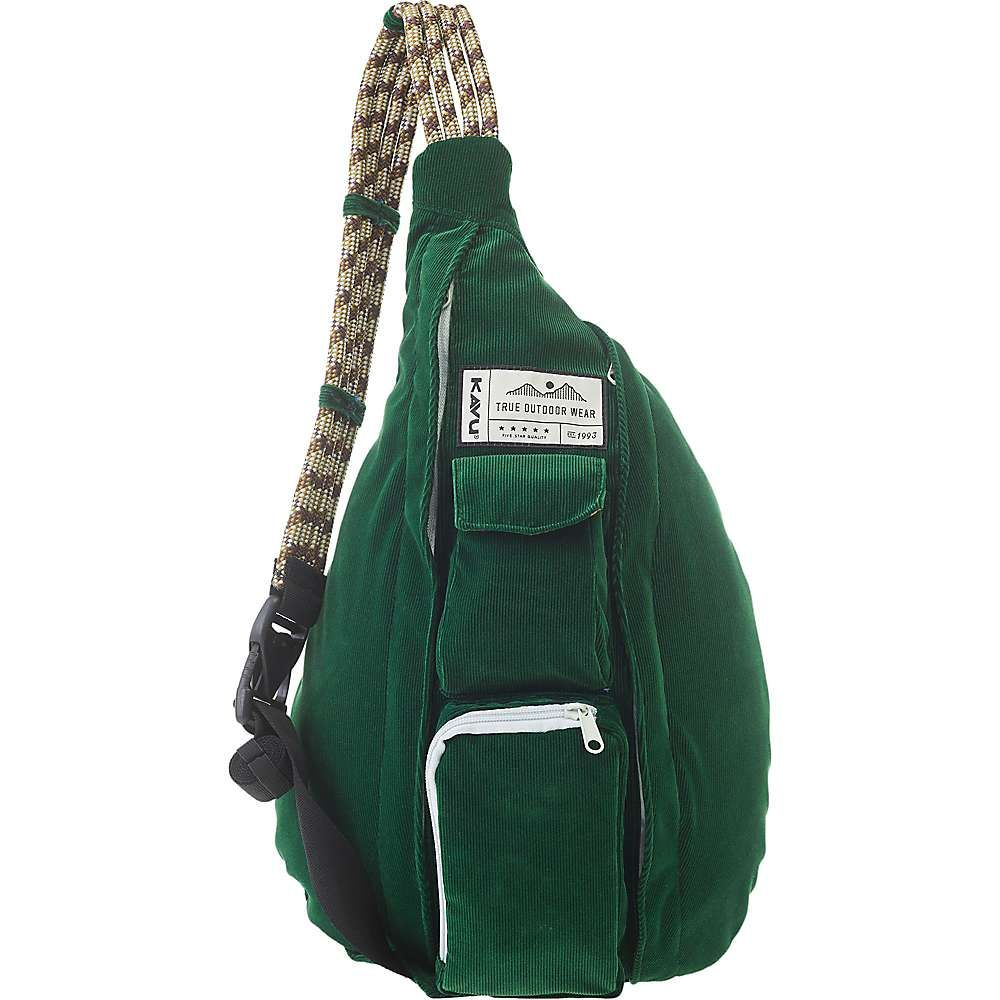 カブー Kavu レディース ボディバッグ・ウエストポーチ バッグ【KAVU Rope Cord Sling Bag】Park Green