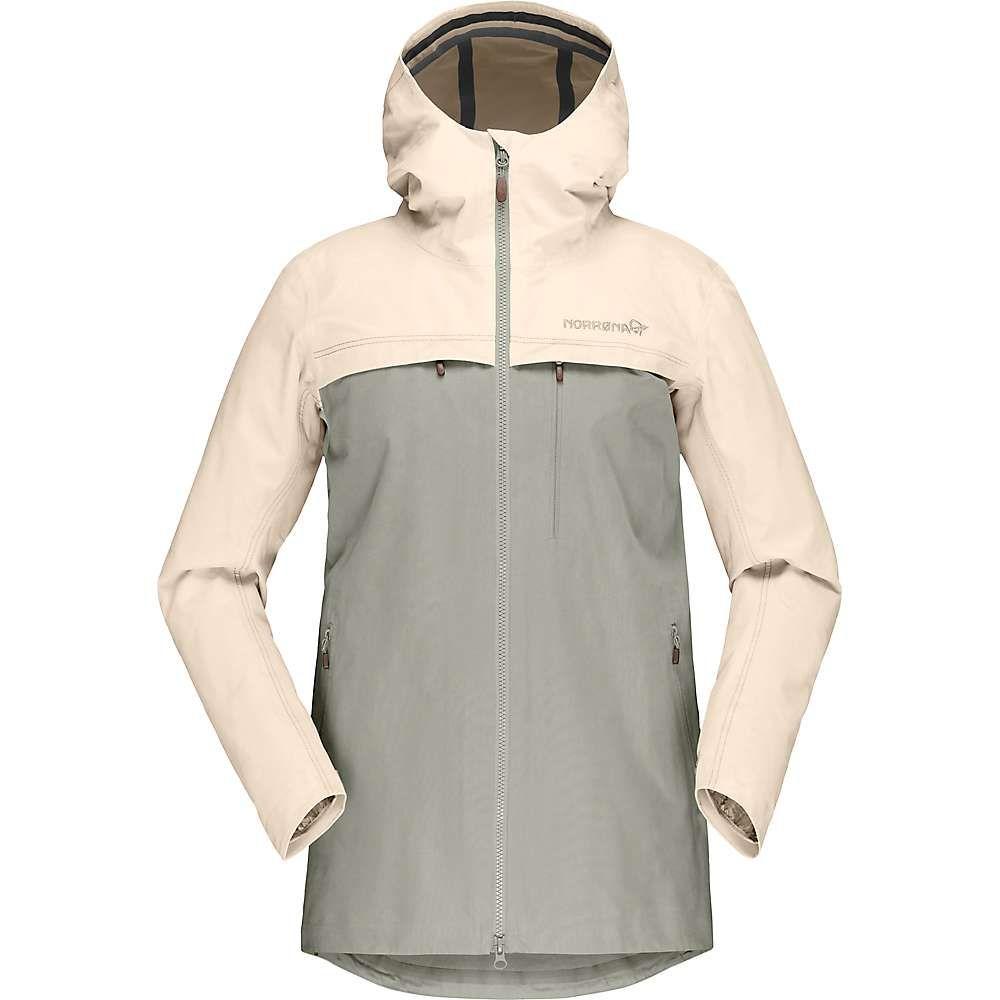 ノローナ Norrona レディース ジャケット アウター【Svalbard Cotton Jacket】Ecru/Sandstone