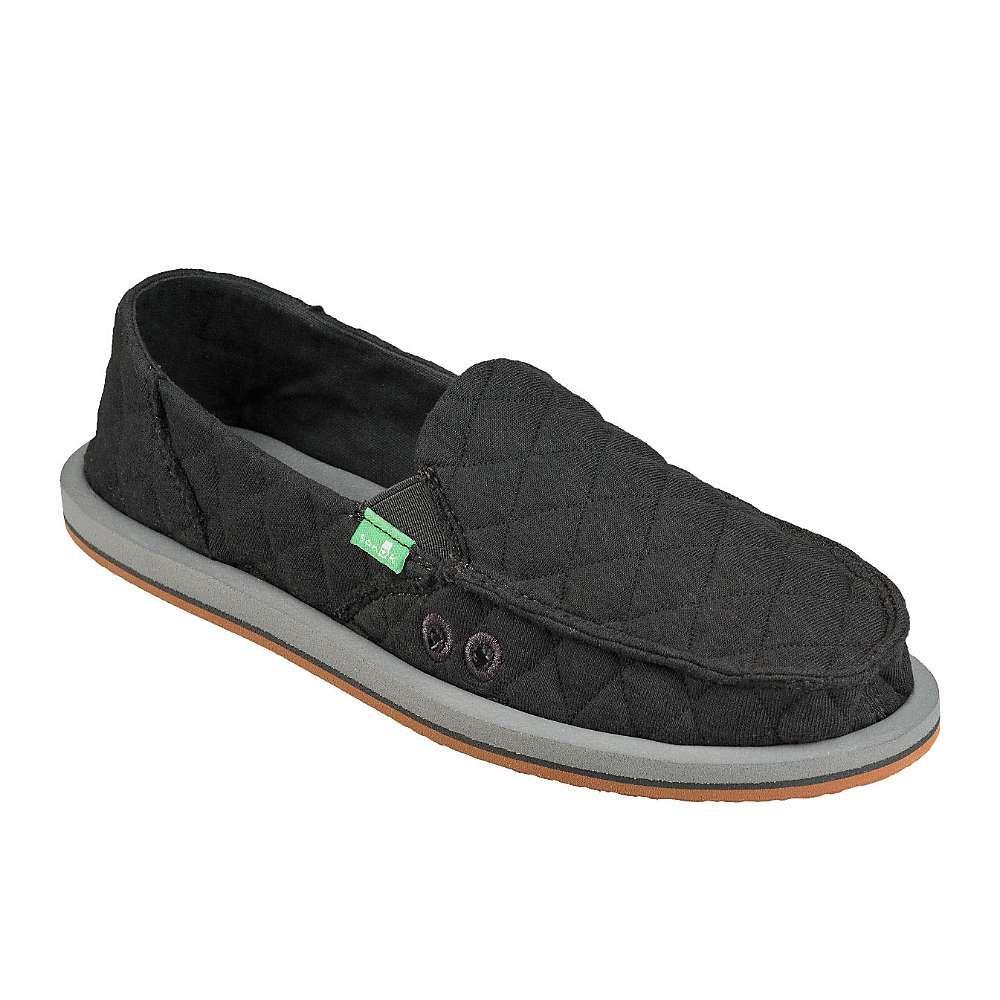 サヌーク Sanuk レディース シューズ・靴 【Donna Quilt Shoe】Dark Charcoal