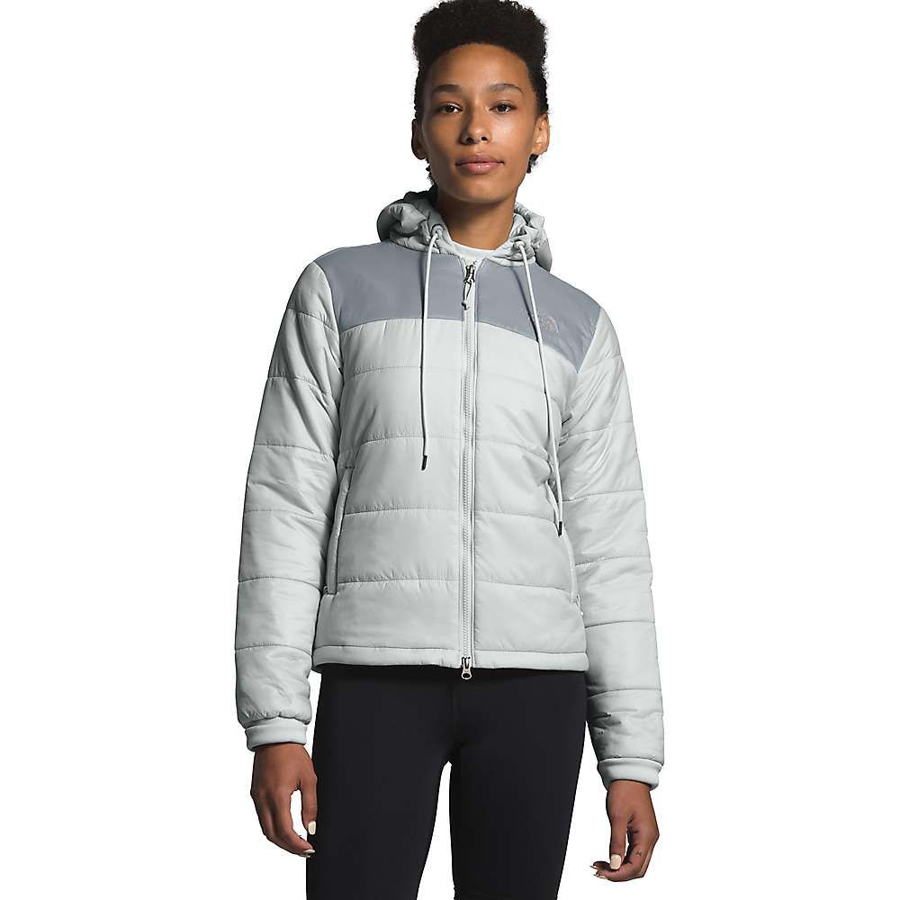 ザ ノースフェイス The North Face レディース ジャケット アウター【Pardee Insulated Jacket】Tin Grey/Mid Grey