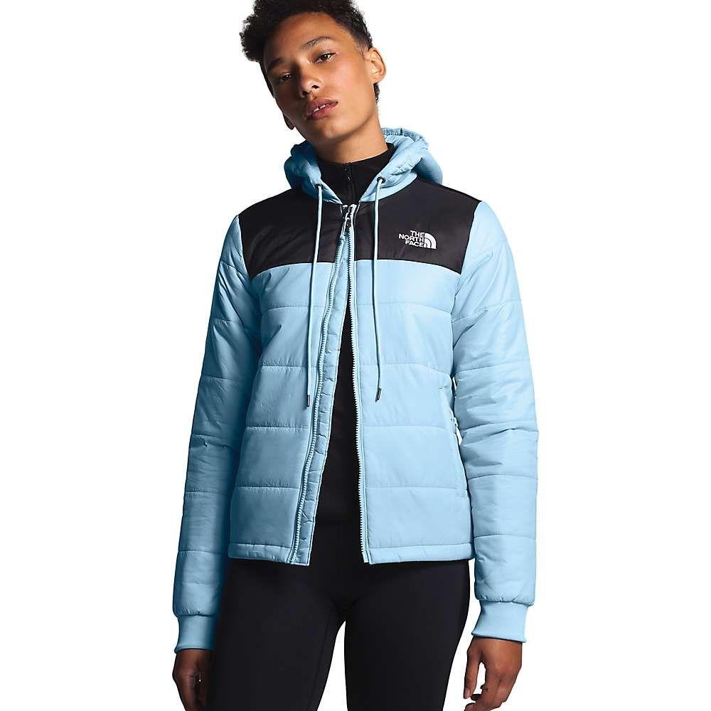 ザ ノースフェイス The North Face レディース ジャケット アウター【Pardee Insulated Jacket】Angel Falls Blue/TNF Black