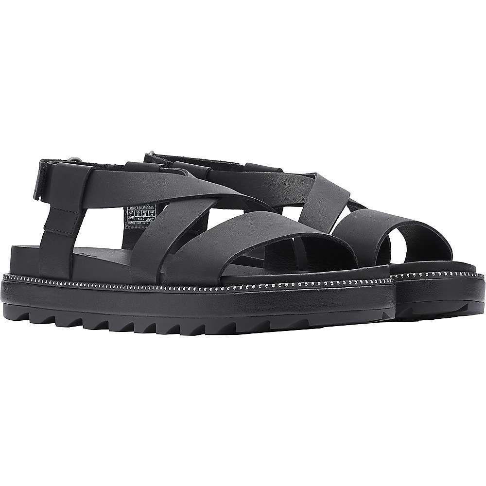 ソレル Sorel レディース サンダル・ミュール シューズ・靴【Roaming Criss Cross Sandal】Black