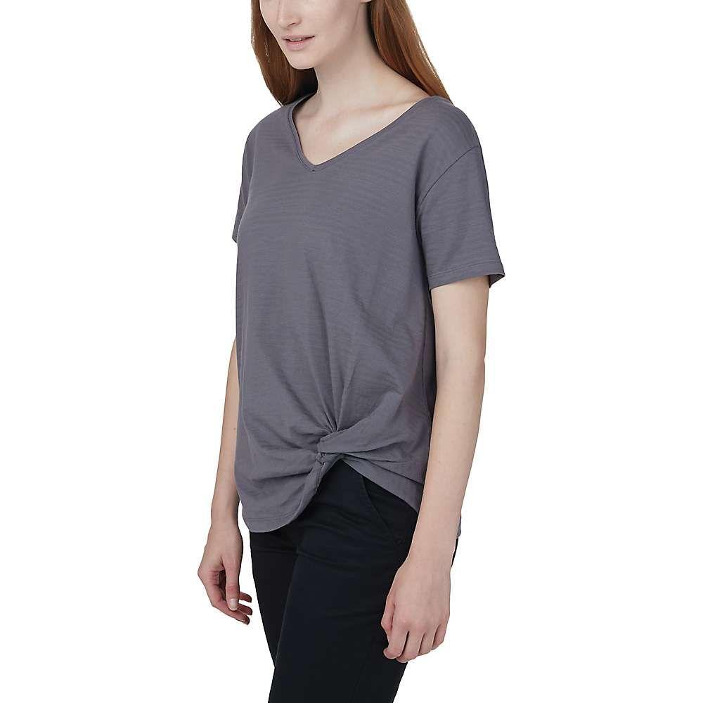 テンツリー tentree レディース Tシャツ トップス【Tentree Enso T-Shirt】Boulder Grey
