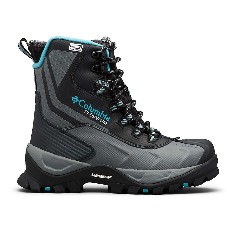 コロンビア Columbia Footwear レディース ブーツ シューズ・靴【Columbia Powderhouse Titanium Omni-Heat 3D OutDry Boot】Black/Pacific Rim