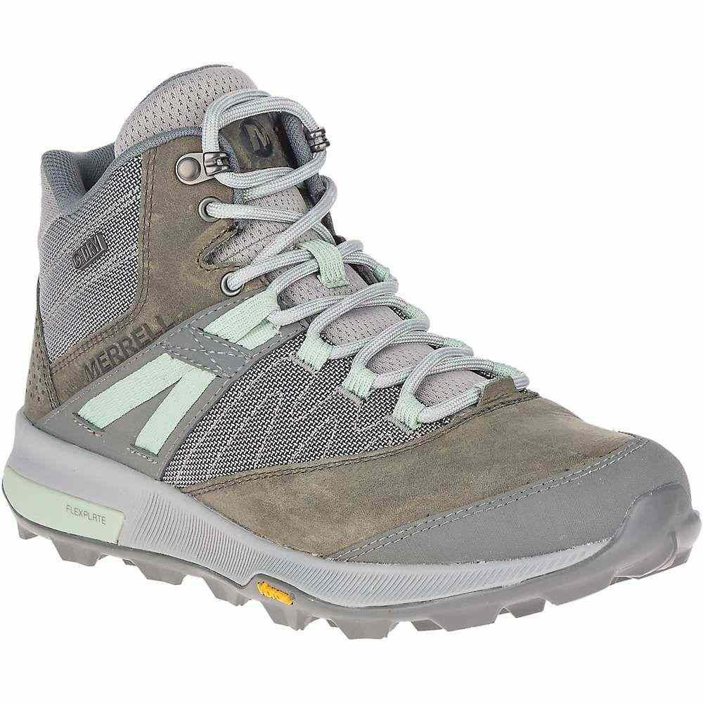 メレル Merrell レディース ハイキング・登山 シューズ・靴【Zion Mid Waterproof Shoe】Merrell Grey