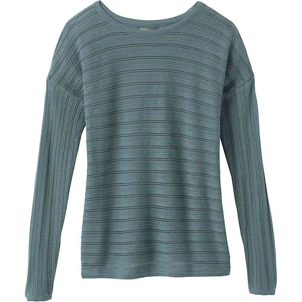 プラーナ Prana レディース ニット・セーター トップス【Madeline Sweater】Smoky Blue Solid