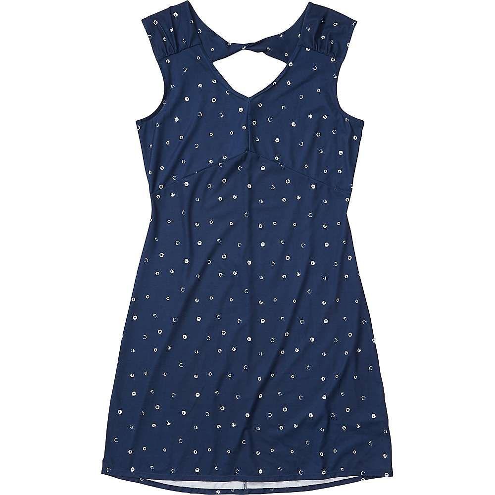 マーモット Marmot レディース ワンピース ワンピース・ドレス【Annabelle Dress】Arctic Navy Polkadot