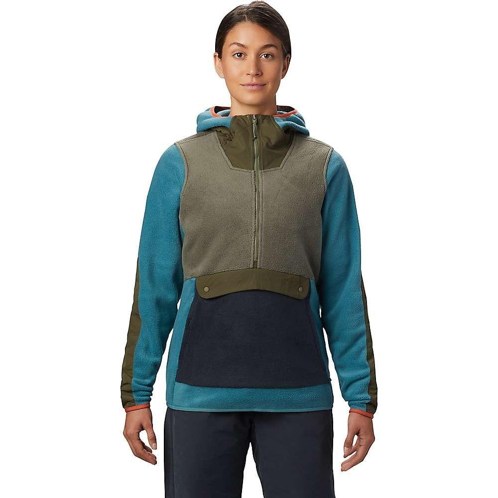 マウンテンハードウェア Mountain Hardwear レディース フリース トップス【Unclassic Fleece Hoody】Washed Turq