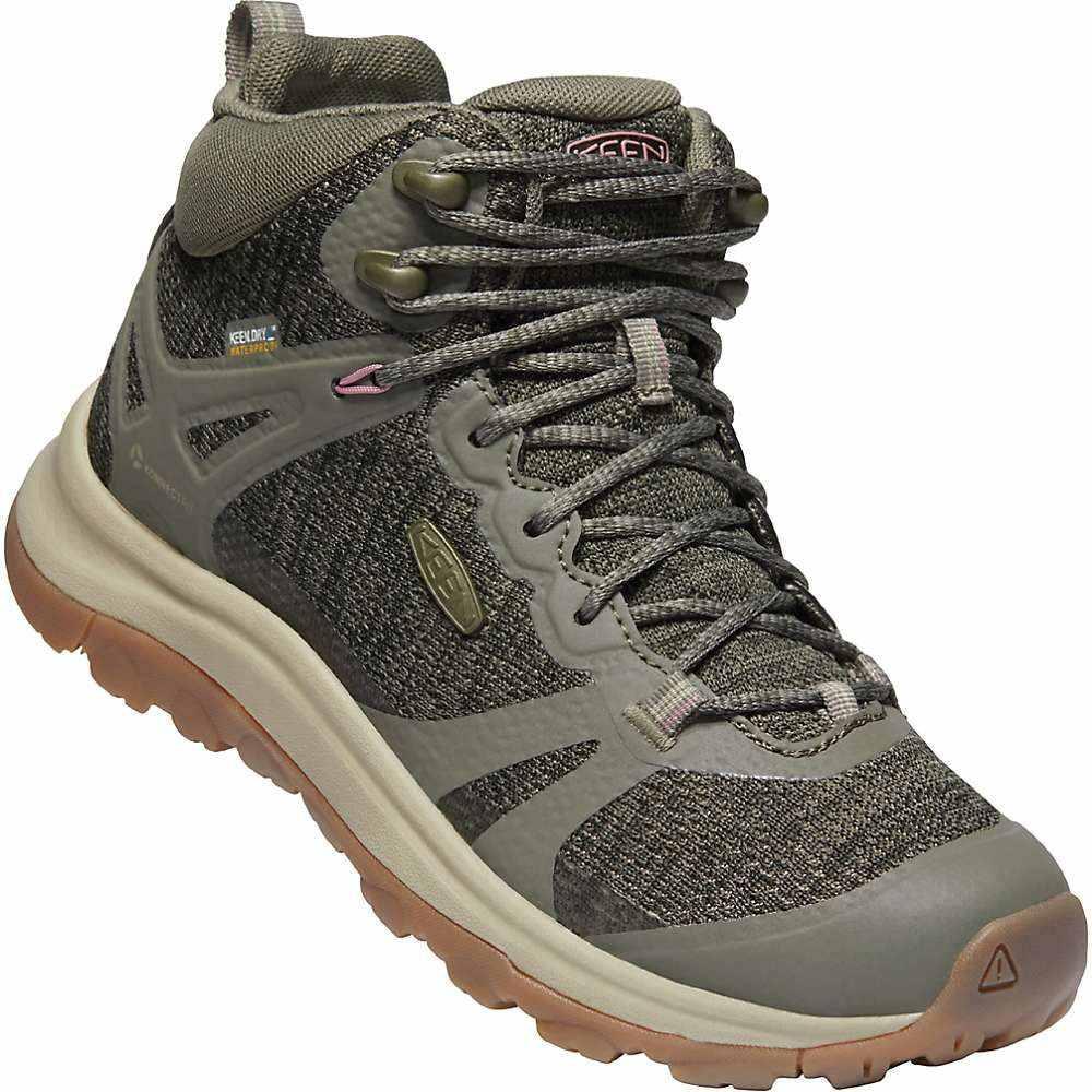 キーン Keen レディース ハイキング・登山 ブーツ シューズ・靴【Terradora II MID Waterproof Boot】Dusty Olive/Nostalgia Rose