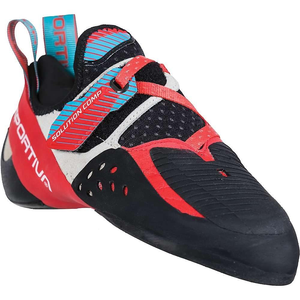 ラスポルティバ La Sportiva レディース クライミング シューズ・靴【Solution Comp Climbing Shoe】Hibiscus/Malibu Blue