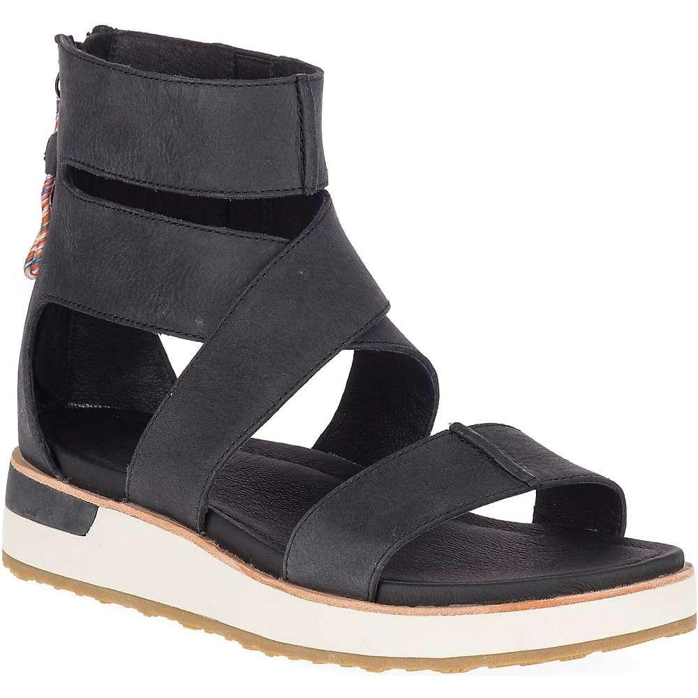メレル Merrell レディース サンダル・ミュール シューズ・靴【Roam Mid Cross Sandal】Black