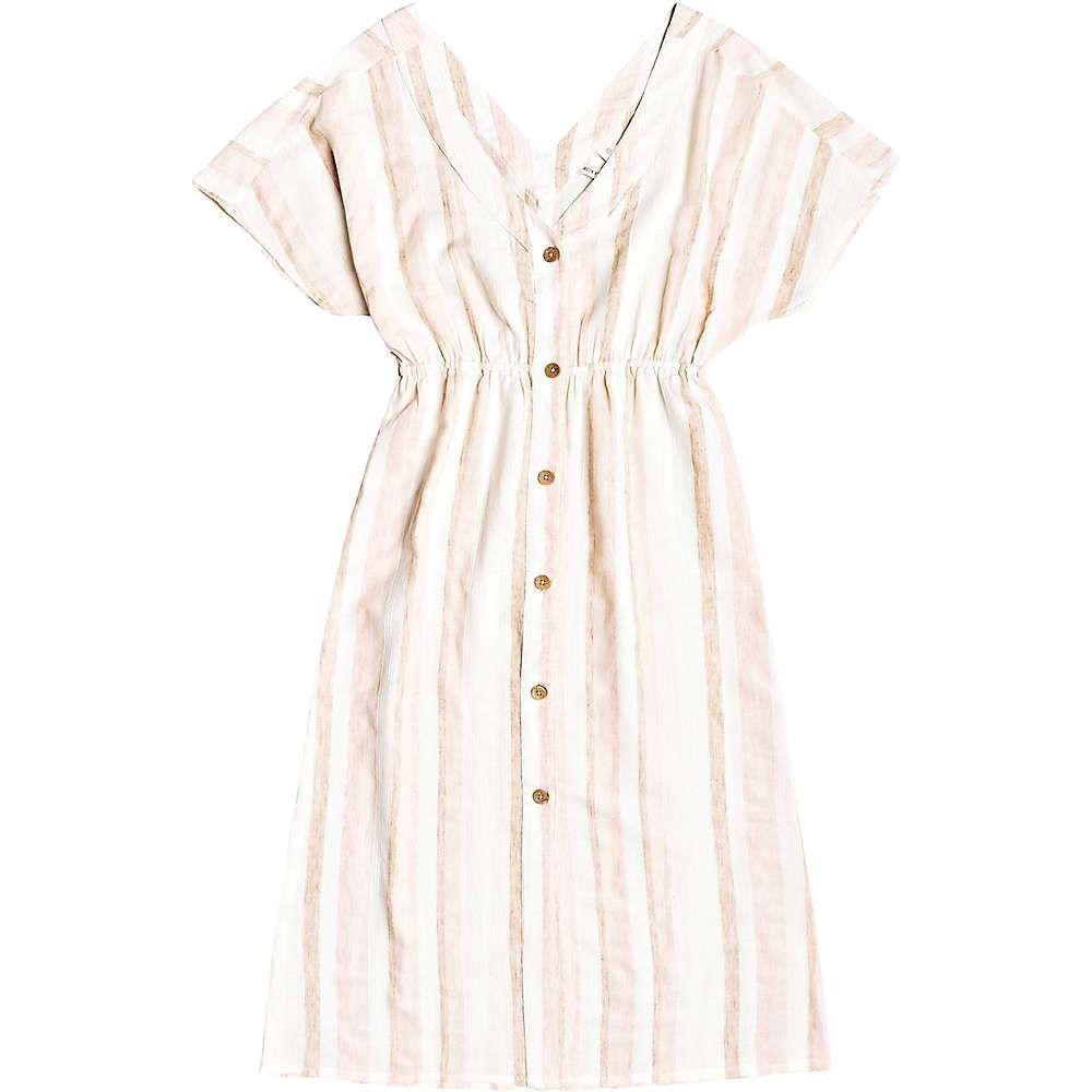 ロキシー Roxy レディース ワンピース ワンピース・ドレス【Joyful Noise Dress】Ivory Cream Nam Nam Stripes