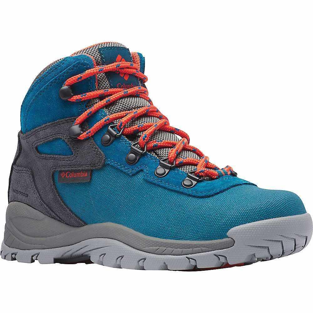 コロンビア Columbia Footwear レディース ハイキング・登山 シューズ・靴【Columbia Newton Ridge LT Waterproof Shoe】Dark Turquoise/Zing