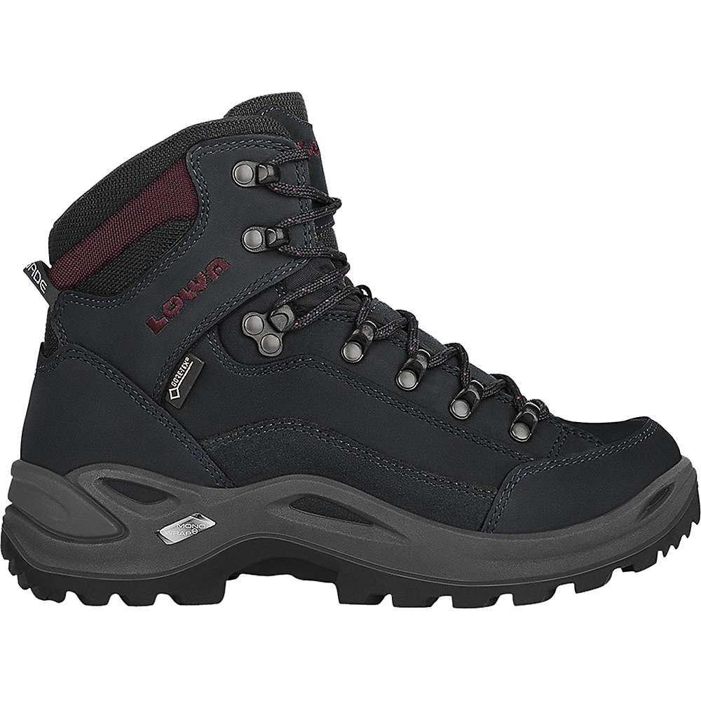 ローバー Lowa Boots レディース ハイキング・登山 ブーツ シューズ・靴【Lowa Renegade GTX Mid Boot】Black/Burgundy