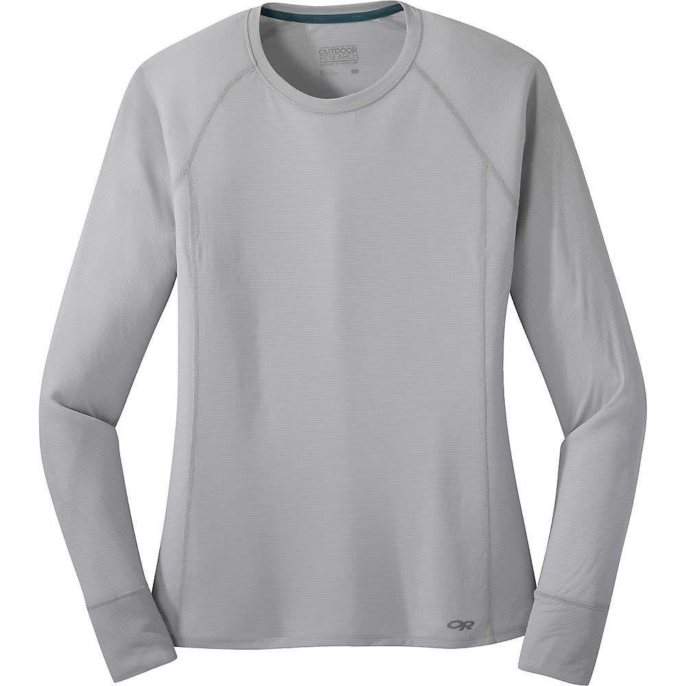 アウトドアリサーチ Outdoor Research レディース フィットネス・トレーニング Tシャツ トップス【Echo LS Tee】Pebble