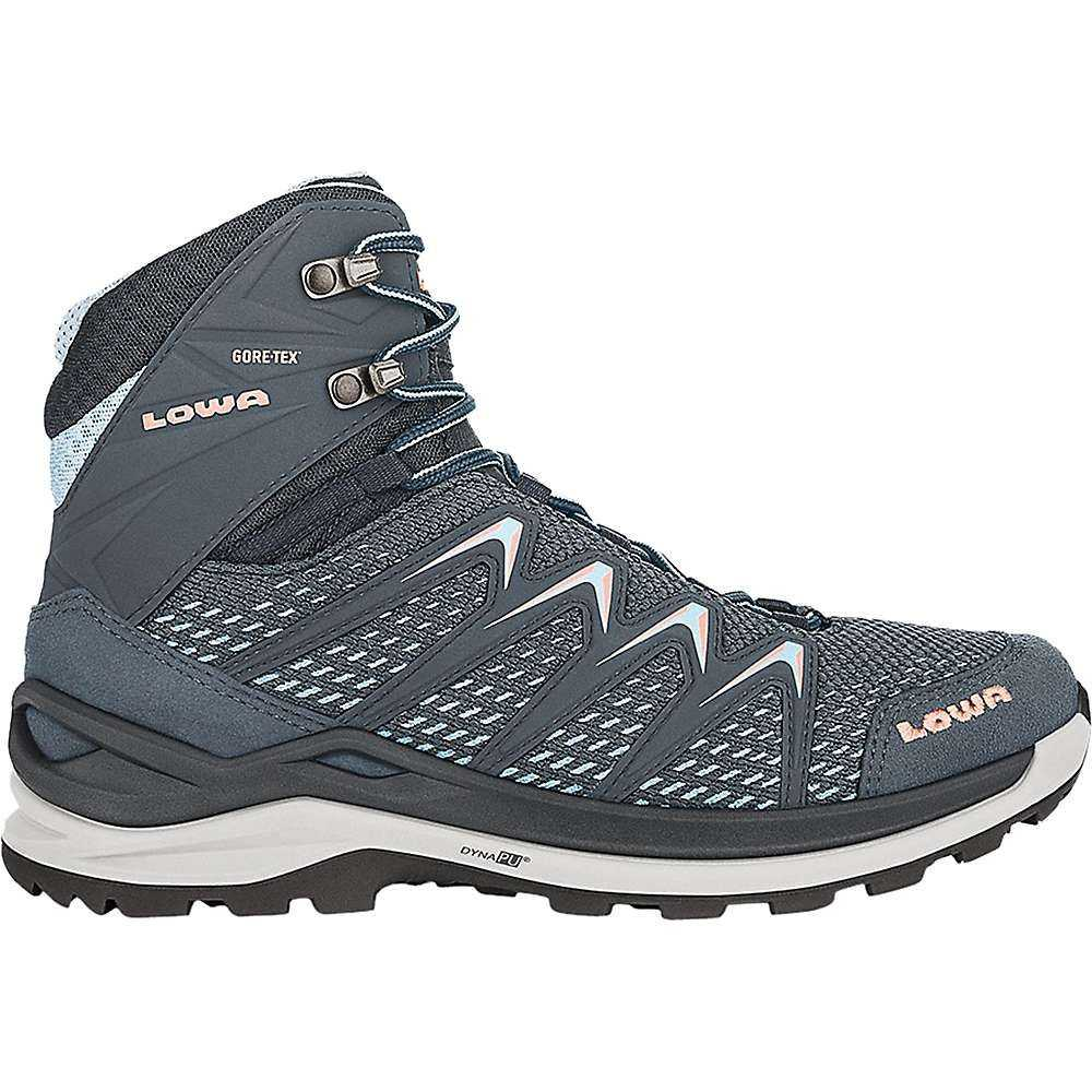 ローバー Lowa Boots レディース ハイキング・登山 ブーツ シューズ・靴【Lowa Innox Pro GTX Mid Boot】Steel Blue/Salmon