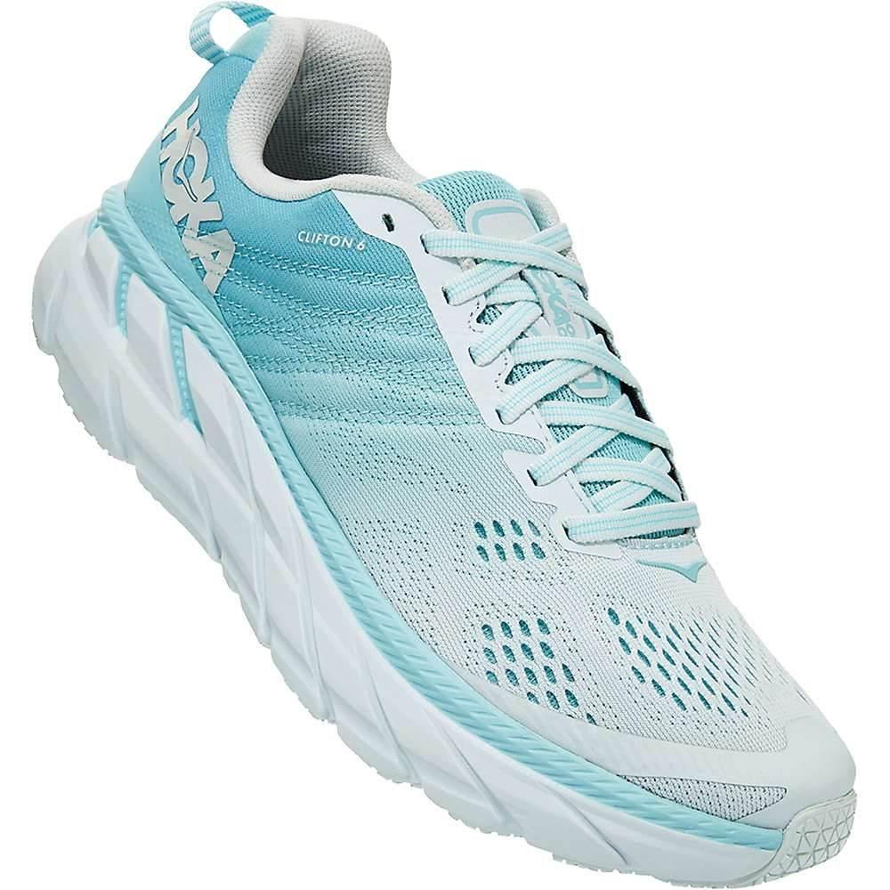 ホカ オネオネ Hoka One One レディース ランニング・ウォーキング シューズ・靴【Clifton 6 Shoe】Antigua Sand/Wan Blue