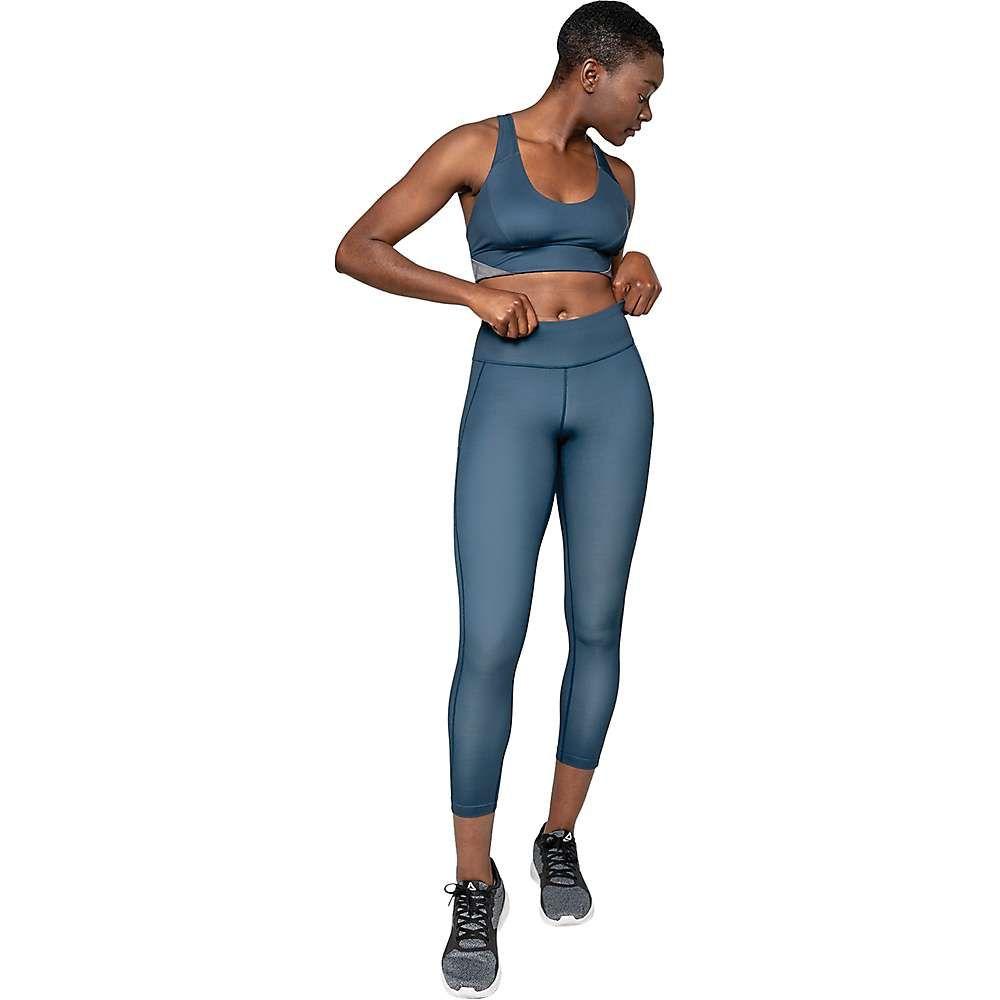 ゴーライト GoLite レディース フィットネス・トレーニング スパッツ・レギンス ボトムス・パンツ【ReFine 7/8 Legging】Tidal