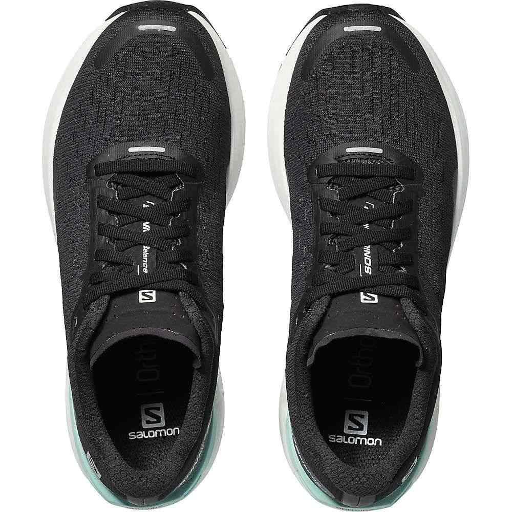 サロモン Salomon レディース ランニング・ウォーキング シューズ・靴【Sonic 3 Balance Shoe】Black/White/Quiet Shade
