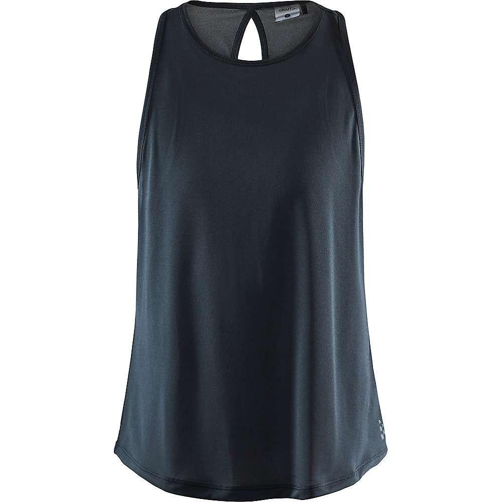 クラフト Craft Sportswear レディース フィットネス・トレーニング トップス【Craft Charge Singlet】Black
