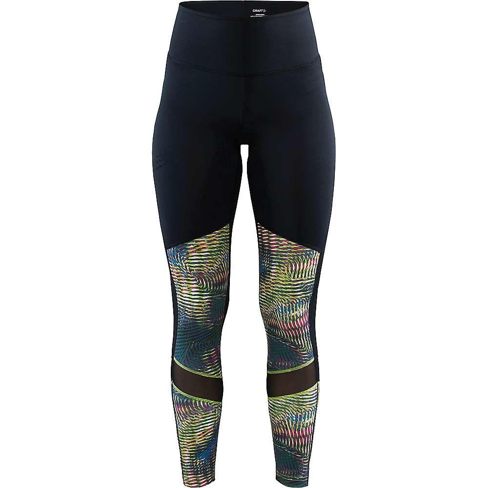 クラフト Craft Sportswear レディース フィットネス・トレーニング スパッツ・レギンス ボトムス・パンツ【Craft Untmd High Waist Tight】Multi/Black