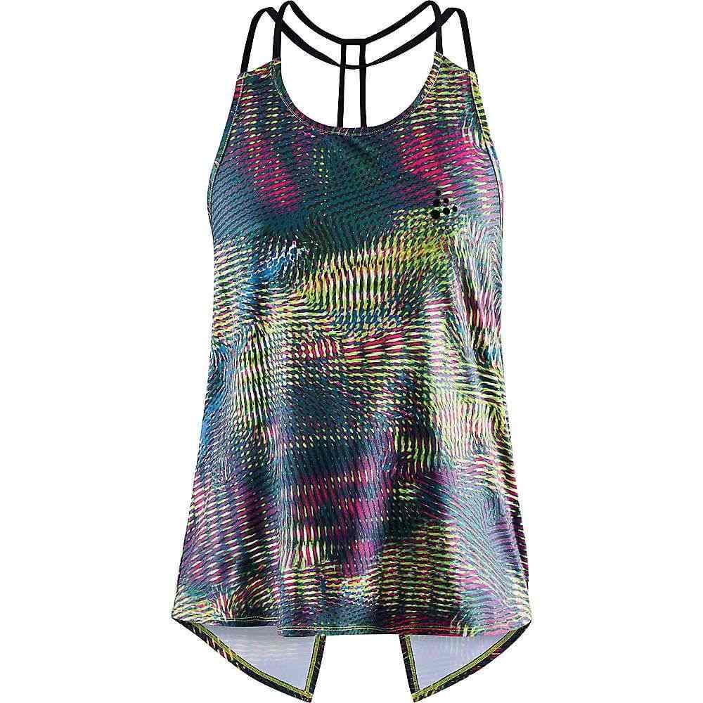 クラフト Craft Sportswear レディース フィットネス・トレーニング トップス【Craft Untmd Strap Singlet】Multi/Black