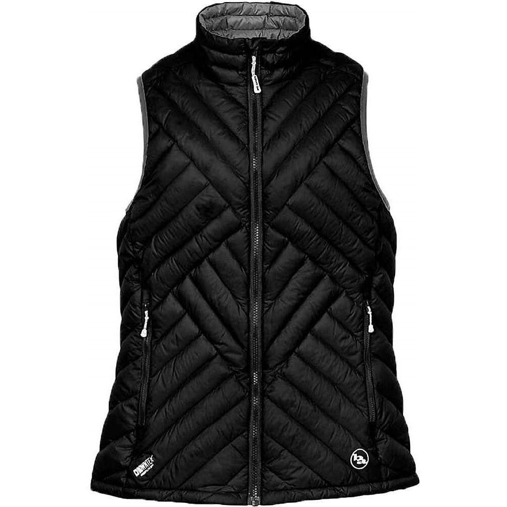 ビッグアグネス Big Agnes レディース ベスト・ジレ トップス【Late Lunch Vest】Black/Black