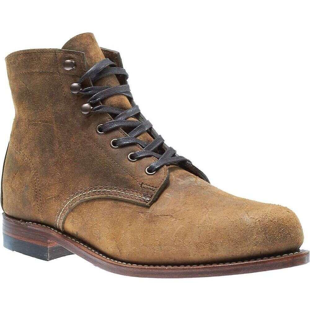 ウルヴァリン Wolverine メンズ ブーツ シューズ・靴【1000 Mile Boot】Brown Waxy Suede