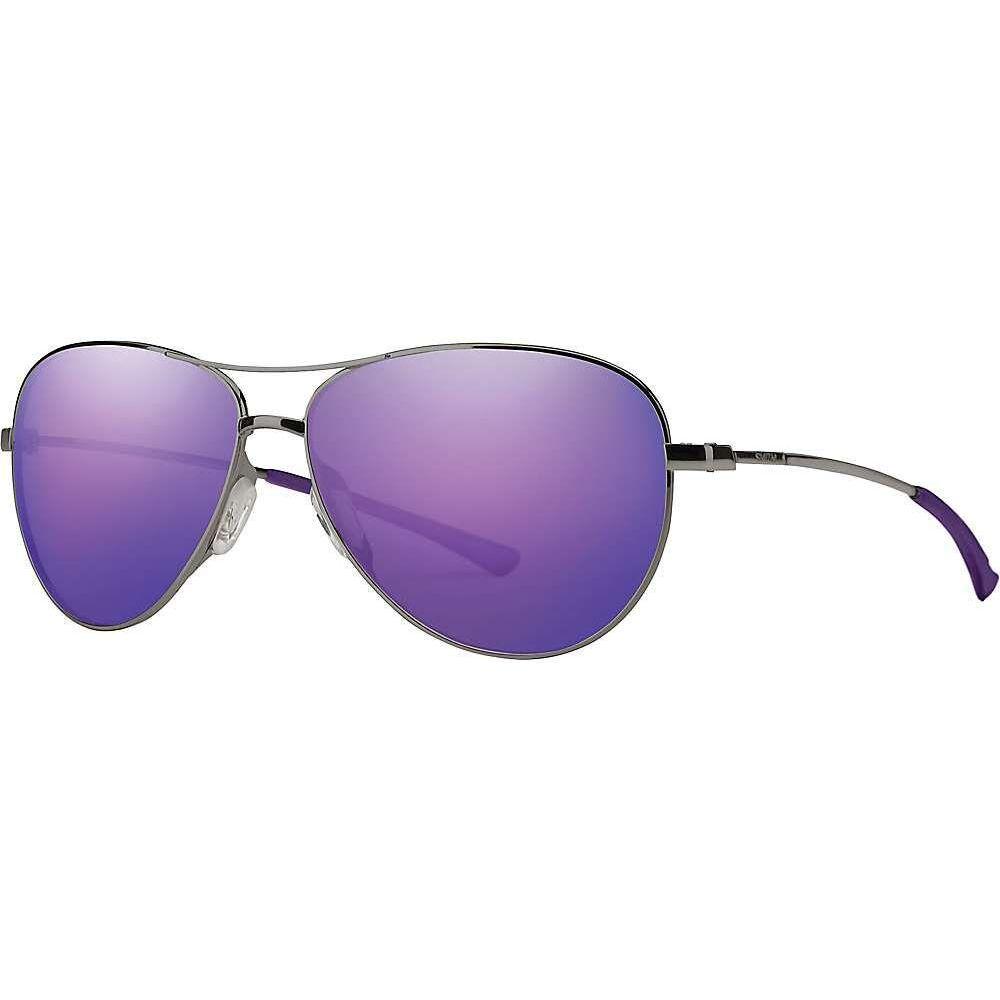 スミス Smith レディース メガネ・サングラス 【Langley Sunglasses】Violet Ruthenium/Violet Mirror