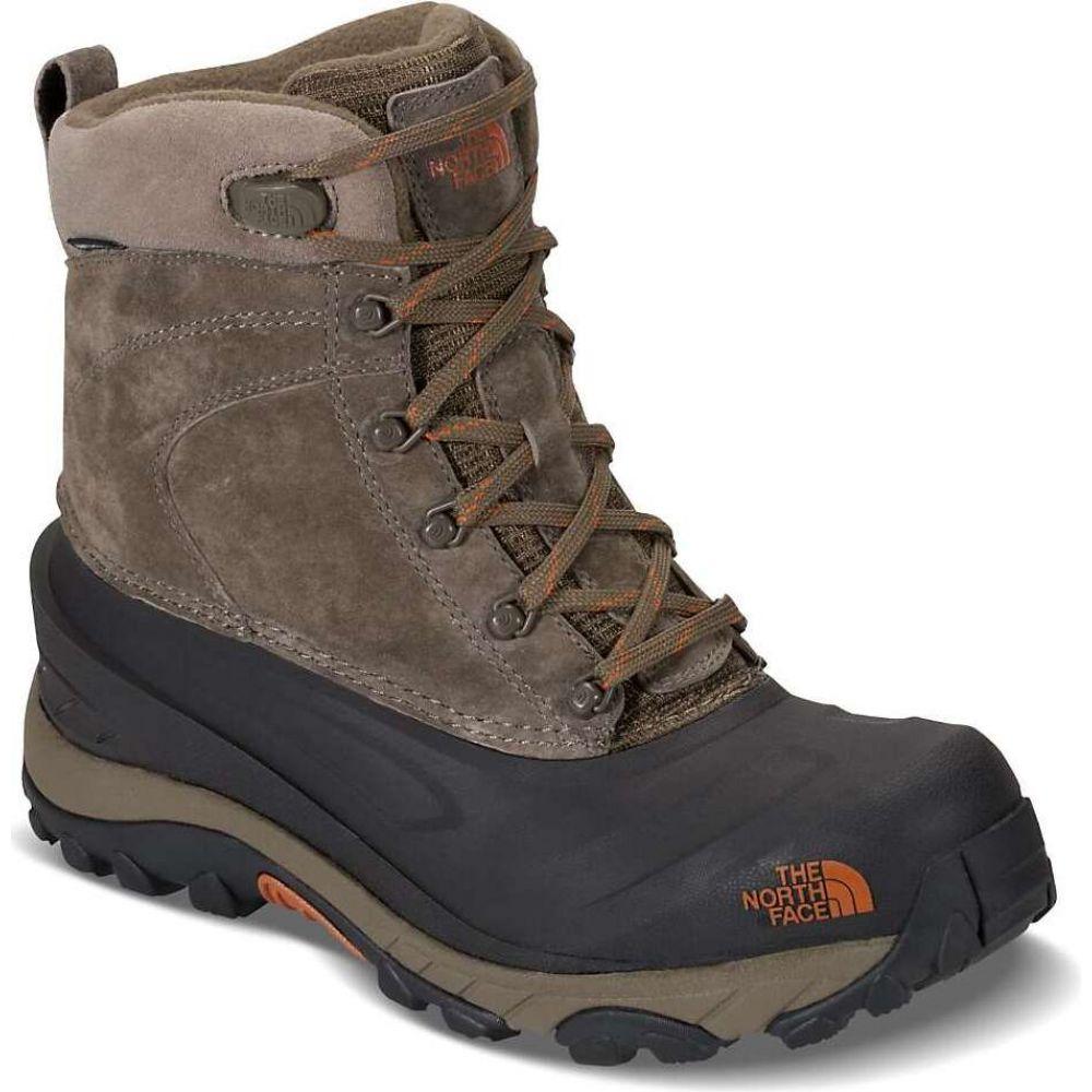 ザ ノースフェイス The North Face メンズ ブーツ シューズ・靴【Chilkat III Boot】Mudpack Brown/Bombay Orange