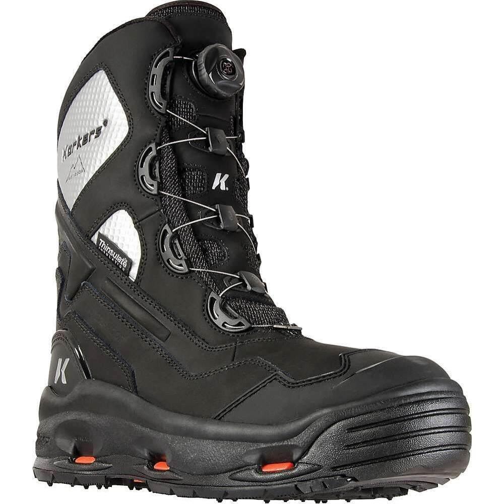 コーカーズ Korkers メンズ ブーツ シューズ・靴【Polar Vortex 1200 Boot】Black/Silver