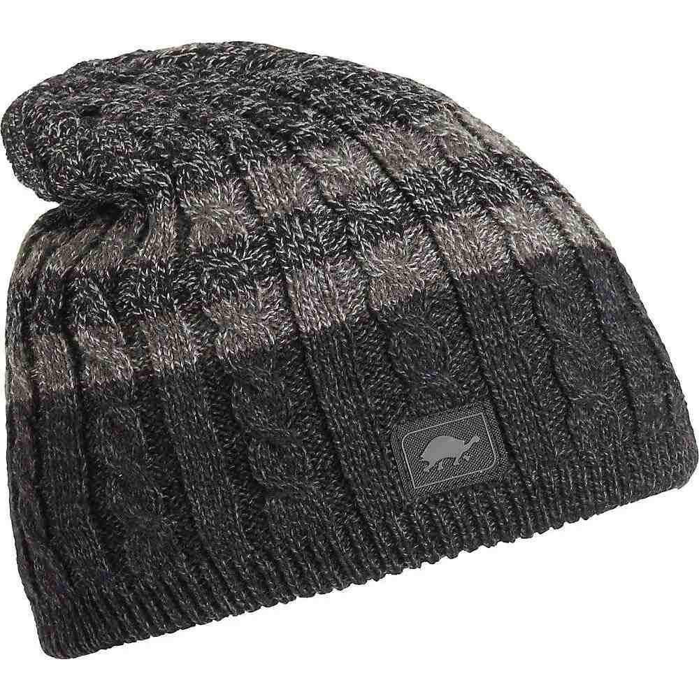 タートルファー Turtle Fur メンズ ニット 帽子【Slater Ragg Hat】Charcoal