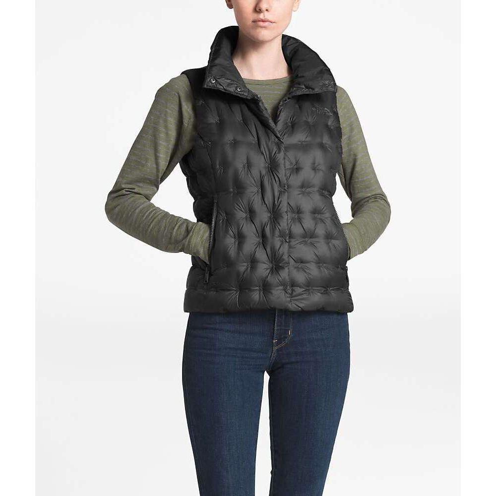 ザ ノースフェイス The North Face レディース ベスト・ジレ トップス【Holladown Crop Vest】Asphalt Grey