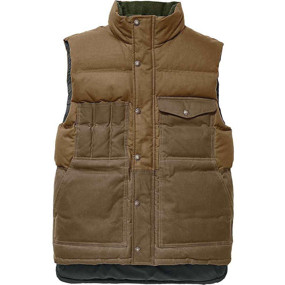 フィルソン Filson メンズ ベスト・ジレ ダウンベスト トップス【Down Cruiser Vest】Dark Tan