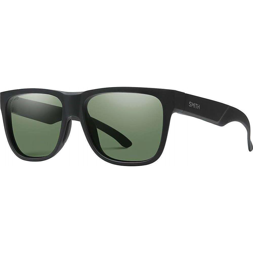 スミス Smith ユニセックス メガネ・サングラス 【Lowdown 2 Polarized Sunglasses】Matte Black/Polarized Gray Green