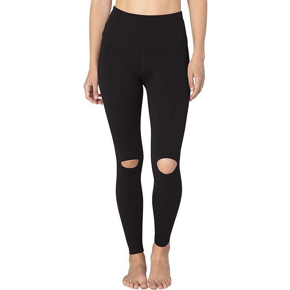 ビヨンドヨガ Beyond Yoga レディース ヨガ・ピラティス スパッツ・レギンス ボトムス・パンツ【Got To Slit High Waisted Midi Legging】Jet Black