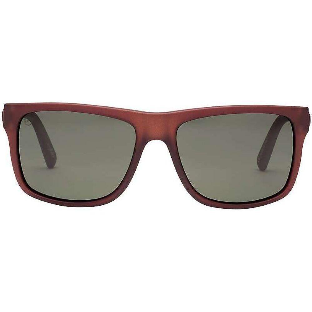 エレクトリック Electric ユニセックス メガネ・サングラス 【Swingarm Polarized Sunglasses】Cola/Polarized Grey