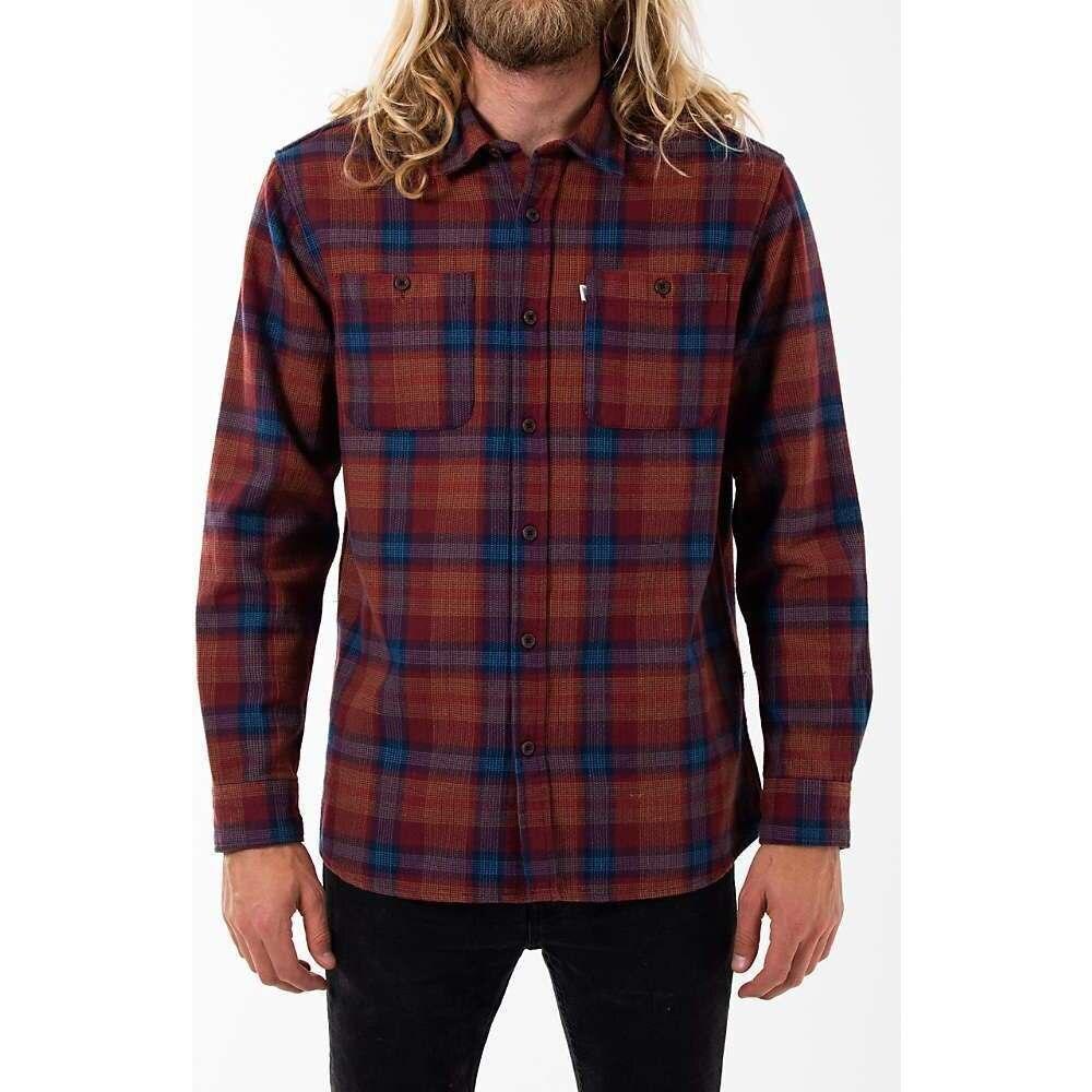 ケイティン Katin メンズ シャツ トップス【Harold Shirt】Dark Red