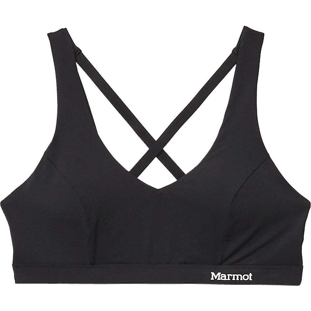マーモット Marmot レディース スポーツブラ インナー・下着【Performance Bralette】Black