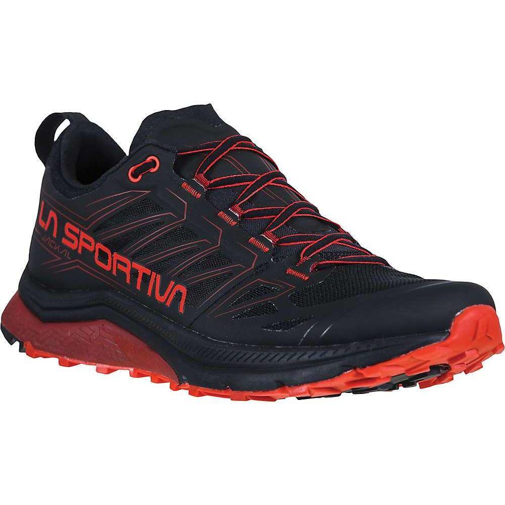 ラスポルティバ La Sportiva メンズ ランニング・ウォーキング シューズ・靴【Jackal Shoe】Black/Poppy